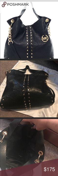 5790cfb0bee96b Michael Kors Bag Michael Kors Uptown Astor shoulder bag in black. Michael  Kors Bags Shoulder