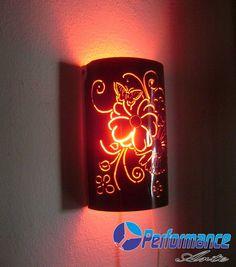 abajur de pvc de parede - Pesquisa Google                                                                                                                                                                                 Más Dyi Crafts, Crafts To Make, Dremel, Pvc Chair, Bamboo Lamp, Pvc Pipe Projects, Gourd Lamp, Concrete Lamp, Creative Home