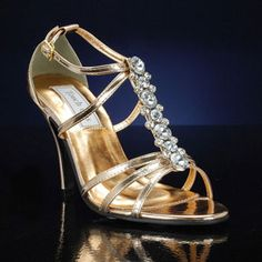 by Touch Ups Gold Prom Shoes, Wedding Shoes, Wedding Dresses, Metallic Shoes, Silver Shoes, T Strap, Ankle Strap, Vanessa Rose, Bridesmaid Shoes