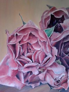 Bukiet róż  format: 30 cm x 40 cm