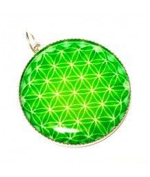 květ života / posvátná geometrie / zelená