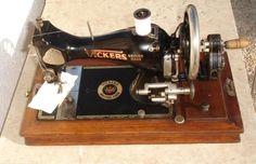 antigua maquina de coser vickers, año c. 1930- - Comprar Otras Máquinas de Coser Antiguas en todocoleccion - 46379566