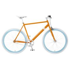Il Capri by Solé Bicycles (www.solebicycles.com). In orange and white with powder blue rims (Bucknell University colors!), Il Capri is an easy, breezy set of wheels featuring both fixed-gear and single speed settings. At 26 pounds, it's insanely lightweight—a feature that can be attributed to Solé's signature, clean-lined silhouette. Designed in Venice Beach, California, this bike is as equipped for the boardwalk as it is for the sidewalk. $349.00