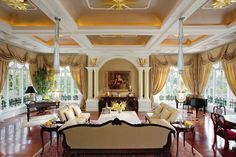 Mandarin Oriental Dhara Dhevi, Chiang Mai's Penthouse palatial residence offers some of the resort's most lavish accommodation.     Pin provided by Mandarin Oriental Dhara Dhevi, Chiang Mai: http://mandarinoriental.com/chiangmai