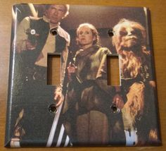 Star Wars Return of theJedi light switch cover by PastePotPrefects