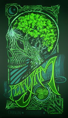Pearl Jam Posters @ pjposter.tumblr.com