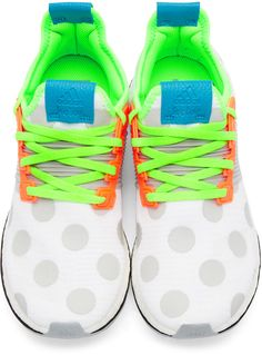 Adidas x Kolor - White Pure Boost ZG Sneakers