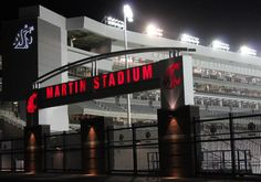 Martin Stadium on the eve of its grand re-opening. Go Cougs!