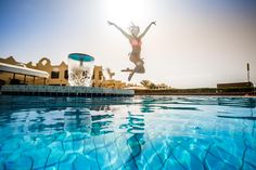 Sunny Days Palma De Mirette Resort & Spa - Hurghada Feel cool and relax in Sunny Days Palma De Mirette Resort & Spa as it offers you all gym services, sauna and diving lessons. #Holidays #Travel #Hurghada