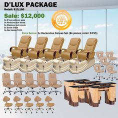 $11500 D'Lux Spa Pedicure Chair Package – Free shipping ,  https://www.ebuynails.com/shop/dlux-spa-pedicure-chair-package-free-shipping/ #pedicurechair#pedicurespa#spachair#ghespa