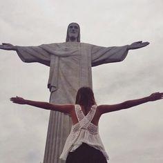 Blessed. ❤️ / Rio de Janeiro '14 (at Christo Redentor, Corcovado, Rio)