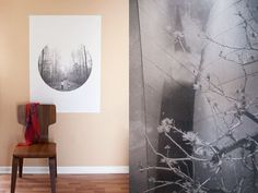 Follow this tutorial on how to blow up your Instagram pics. | 39 Easy DIY Ways To Create Art For Your Walls