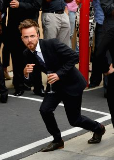Aaron Paul was the King Of 2013, Bitch! This article has many reasons why. Yep, he won my heart - love him!
