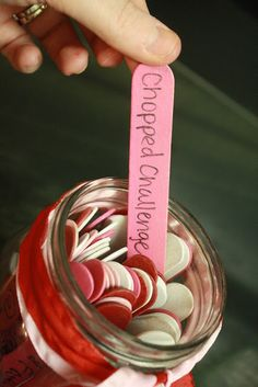 "Married people should still date each other :) Date night jar made with color coded popsicle sticks. Red = $ and planning required Pink = minimal $ and spontaneous White = Stay at home date. Cute ideas included!!!!! This is one of the best ""date jars"" I have seen. - Click image to find more DIY & Crafts Pinterest pins"