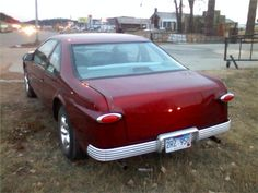 1995 Thunderbird with a 1949 Ford hot rod kit - 1
