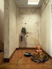 """""""Days of Abundance"""", Kleio Gizeli, mixed media miniature installation, 2010"""