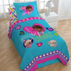 doc mcstuffins bedroom | Doc McStuffins Caring Twin size 4-piece Bed in a Bag with Sheet Set ...