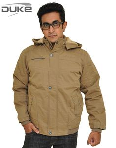 Duke Men Winter Wear Men Trendy Khaki Jacket By Returnfavors