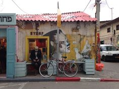 Florentin hipster neighborhood in Tel Aviv street art Israel