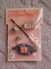1963 Leisure Hours Barbie  Midge Accessories Pack MOC Unopened Mattel Vintage