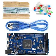 DUE Development Board 32-bit ARM Microcontroller w/ USB Cable for Arduino. Find the cool gadgets at a incredibly low price with worldwide free shipping here. DUE R3 Development Board Kit w/ USB Cable / Resistor / LED for Arduino, Boards & Shields, . Tags: #Electrical #Tools #Arduino #SCM #Supplies #Boards #Shields