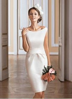 Vbridal - Kurz/Mini Knielang Wadenlang Brautkleider, Brautkleider 2016 Source by elenamariarath Dresses tea length Short Ivory Wedding Dress, Sweet Wedding Dresses, Wedding Dress Organza, 2016 Wedding Dresses, Tea Length Wedding Dress, Tea Length Dresses, Short Dresses, Dresses 2016, Dresses Uk
