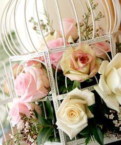 English country garden wedding roses