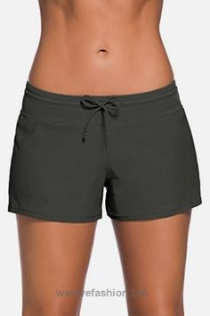 Women's Swim Shorts offer a versatile fit that's great for a lazy day at the beach or an intense round of volleyball. Team with classic tankini styles swim tops Swim Shorts Women, Board Shorts Women, Sports Crop Tops, Tankini Swimsuits For Women, Fashion Swimsuits, Womens Tankini, Plus Size Swim, Bikini Bottoms, Swim Bottoms