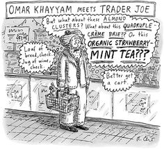 Omar Khayyam meets Trader Joe: Cartoons from the Issue of September 2nd, 2013 : The New Yorker