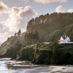 Heceta Head Lighthouse, Florence-Oregon coast