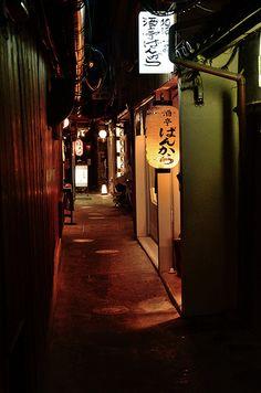 Ponto-cho, Kyoto / 京都・先斗町