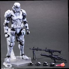 49.82$  Watch now - http://aliwfw.worldwells.pw/go.php?t=32539726775 - Anime Character 1pcs star wars removable white Darth Vader action pvc figure toy tall 27cm in box sell. 49.82$