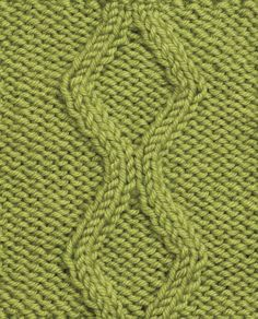 Today we are learning how to knit a No Cross Diamond cable ... get the free pattern and stitch diagram here #knit #fiber