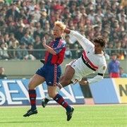 FC Sao Paulo Captain Rai (L) in action during the 1992 Inter Continental Cup 12/13/1992 (Source: Quando Raí virou rei )