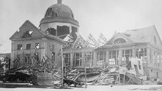 One hundred years ago, a massive explosion rocked Halifax, Nova Scotia when a ship—the Mont-Blanc—carrying six million pounds of explosives caught fire in the harbor. Halifax Explosion, Exhibition Building, The Mont, Canadian History, Explosions, World War I, Nova Scotia, Wwi, Mont Blanc