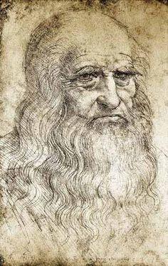 """""""Autorretrato de Leonardo da Vinci"""""""