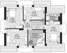 Projekt Dom przy Cyprysowej 14 D 144,12 m2 - koszt budowy - EXTRADOM