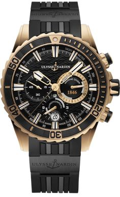Buy Ulysse Nardin Diver Chronograph Watches, authentic at discount prices. Complete selection of Luxury Brands. All current Ulysse Nardin styles available. Fine Watches, Men's Watches, Sport Watches, Cool Watches, Breitling Watches, Ladies Watches, Stylish Watches, Audemars Piguet, Ulysse Nardin