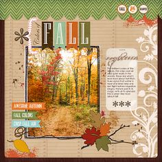 Gorgeous page by Jana .. love the doodled frame, the brushwork and banners. Beautiful!
