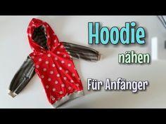Kapuzenpullover nähen - Nähanleitung OHNE Schnittmuster - Anfänger - Nähtinchen - YouTube