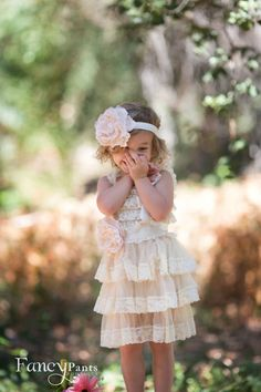 Strong-Willed Diva And Itty Bitty Infant Baby Girl Dresses Flower Size 12 M To Have A Unique National Style Clothing, Shoes & Accessories