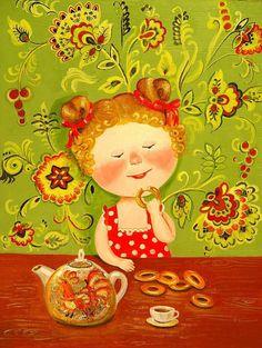 Kayukova Irina. Ilustración. -