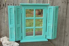 Window & shutters mirror