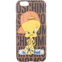Pre-owned Moschino Tweety Bird iPhone 6 Case (970 ARS) ❤ liked on Polyvore featuring accessories, tech accessories, yellow and moschino