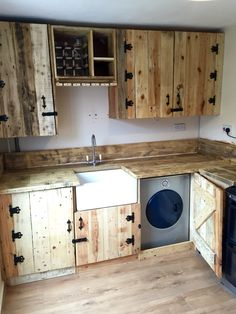 Pallet kitchen all finished