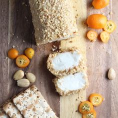 Goat Cheese with Marcona Almonds and Honey + Sweet Valentine's Cheeseboard   Taste And See