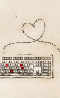 Loving keyboard