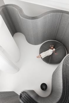 Workplace as Living Space Architecture Design, Cloud Lights, Meditation Space, Soft Seating, Interiores Design, Workplace, Living Spaces, Furniture Design, Moncler