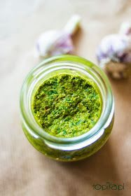 Topika: Pesto na zimę Pesto, Hummus, Food And Drink, Ethnic Recipes, Sauces, Diet, Recipies