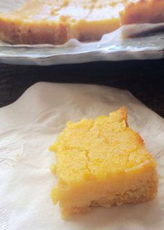 Just Jessie B: Perfect Paleo Lemon Bars